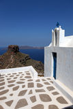 Greek chapel, Santorini Royalty Free Stock Photo