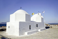 A greek chapel Stock Image