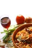 Greek chicken food Stock Photography