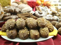 Greek Christmas sweets Stock Photo