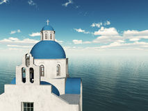 Greek church. Royalty Free Stock Photos