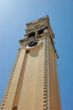 Greek Church. Orthodox Church tower on island of Corfu, Greece Royalty Free Stock Image