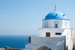 Greek Church Royalty Free Stock Photo