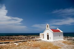 Greek church Stock Images