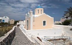 Greek church Stock Photos