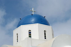 Greek church Stock Photo