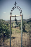 Greek church bell Stock Photography