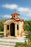Greek church on chalkidiki Royalty Free Stock Photography