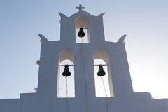 Greek Church in Ios Island, Greece Stock Images