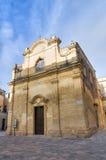 Greek Church. Lecce. Puglia. Italy. Stock Photography