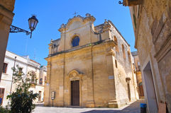 Greek Church. Lecce. Puglia. Italy. Royalty Free Stock Image