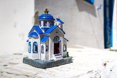 Greek church miniature Stock Photo