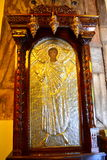 Greek church paintings Royalty Free Stock Image