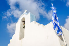 Greek church in Parikia Royalty Free Stock Image