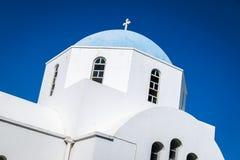 Greek church in Paros Royalty Free Stock Image