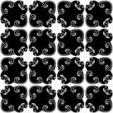 Greek church pattern seamless Royalty Free Stock Photography