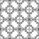 Greek church pattern seamless Royalty Free Stock Images