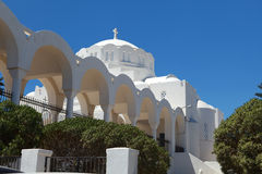 Greek Church on Santorini Royalty Free Stock Images