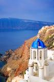 Greek church in Santorini Royalty Free Stock Photos