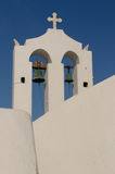 Greek church at Santorini island Royalty Free Stock Images