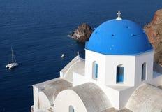 Greek church Stock Image