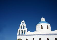 Greek churches Royalty Free Stock Photo