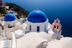 Greek churck Royalty Free Stock Image