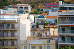 Greek city Stock Images