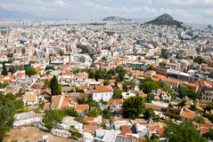 Greek city, Athens Royalty Free Stock Photo