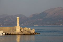 Greek coast Royalty Free Stock Image