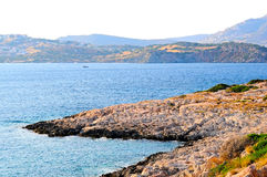 The greek coast Stock Photography