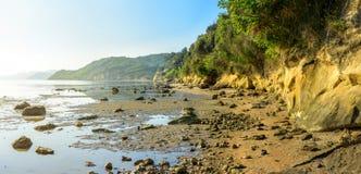 Greek coast of the Ionian Sea Stock Image