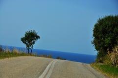 Greek coast Stock Images