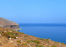 Greek coastal view - Stock Image Royalty Free Stock Photography