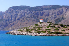 Greek coastline Royalty Free Stock Image