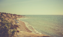 Greek coastline Stock Images