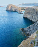 Greek coastline Royalty Free Stock Photos