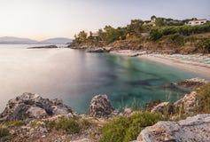 Greek coastline Stock Photos