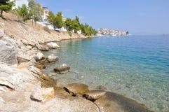 Greek Coastline Royalty Free Stock Images