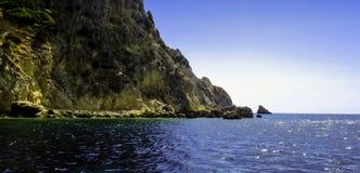 Greek coastline - Zakynthos / Zante island, Greece Royalty Free Stock Image