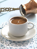 Greek coffee Stock Photos