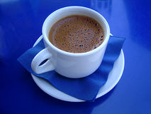 Greek coffee. A special greek coffee royalty free stock photo