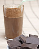 Greek coffee and chocolate. Close up Royalty Free Stock Images