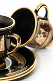 Greek coffee cups Royalty Free Stock Images