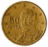 Greek coin Stock Photos