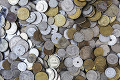 Greek coins Royalty Free Stock Photography