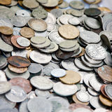 Greek coins collection Royalty Free Stock Photography