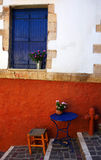 Greek colour crete blue red Stock Photo