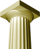 Greek column Royalty Free Stock Photography