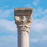 Greek column Stock Photos